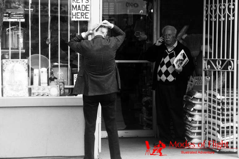 contemporary black and white street photography hamilton ontario