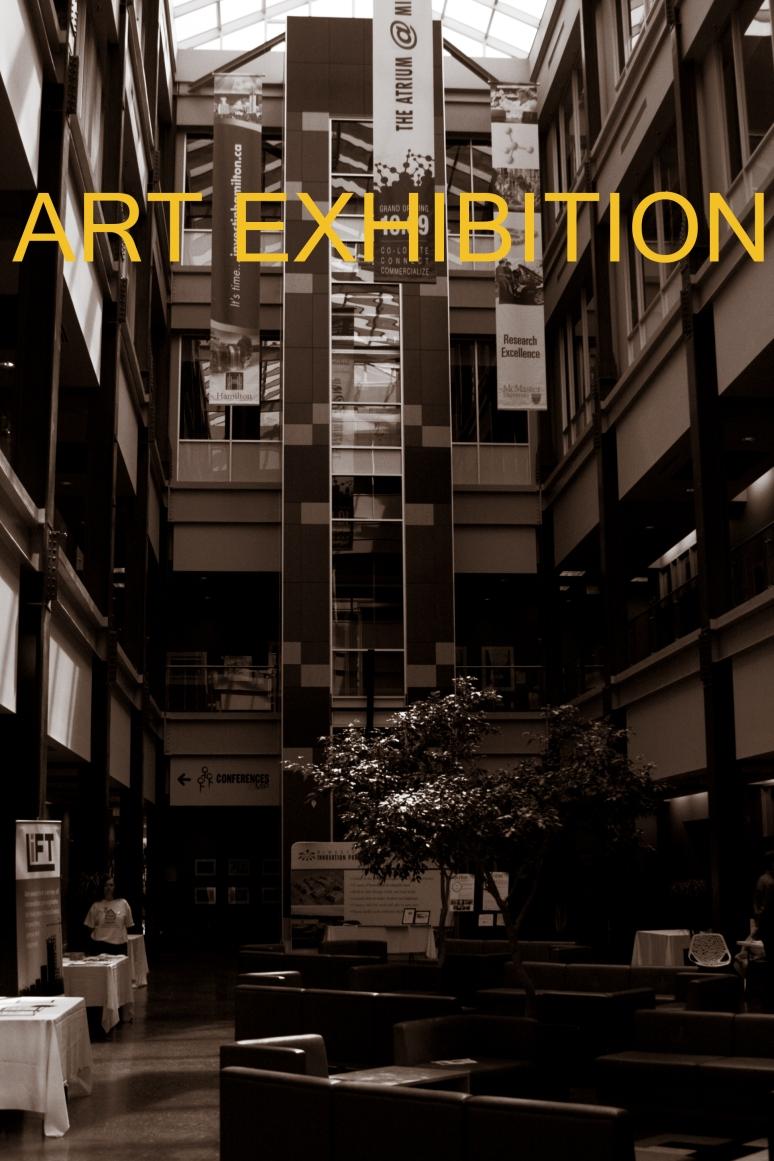 Art Exhibition Advertisement