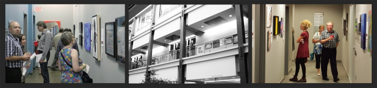 atrium MIP art exhibition pictures